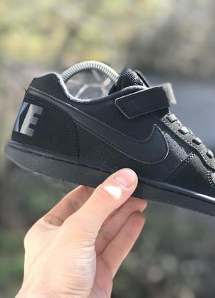 Nike court borough спортивні кросівки на ліпучках