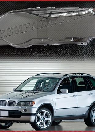 Стекло фары BMW X5 E53 1999-2003