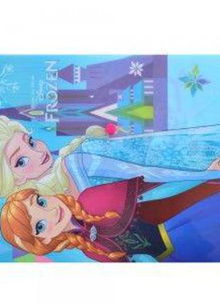 Папка школьная А4 пластик на кнопке 1 Вересня Frozen