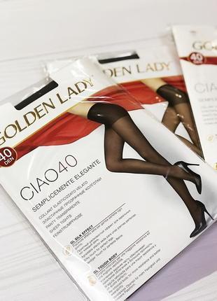 Колготки golden lady 40 den размер-3,4,5