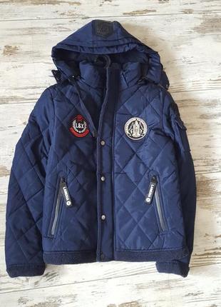 Зимняя теплая куртка на флисовой подкладке