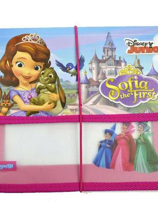 Папка для тетрадей В5 пластик на резинке 1 Вересня Принцесса С...