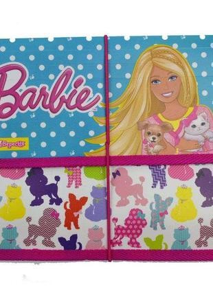 Папка для тетрадей В5 пластик на резинке 1 Вересня Barbie Disn...