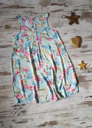 Легкий марлевка сарафан пляжное платье