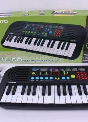 Орган пианино Л60, 220V, синтезатор, 37 клавиш