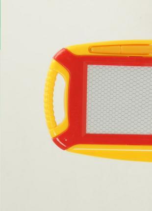 Доска магнитная для рисования 541 с палочкой