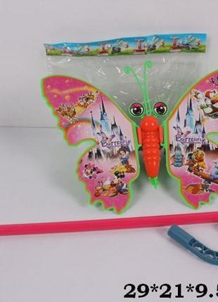 Каталка 62890 Бабочка на палке
