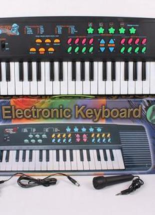 Орган пианино 3138, сеть 220V, синтезатор, 37 клавиш. pro
