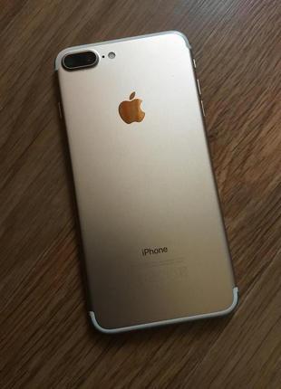 Продам IPhone 7 plus 32 gb Rose Gold Neverlock