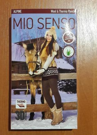 Теплые зимние колготки женские тм mio senso