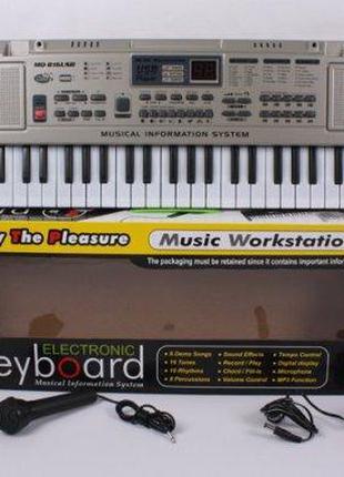 Орган пианино 816 USB раб. от сети 220V, синтезатор, 61 клавиша