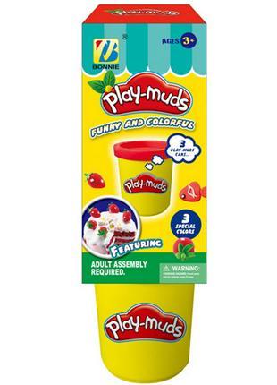 Тесто для лепки 889-4 пластилин play doh