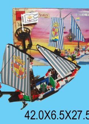 305 Конструктор лего Brick Пиратский Корабль. pro