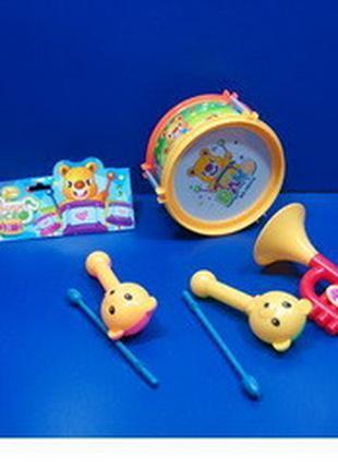 Барабан набор музыкальных инструментов