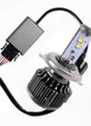 Лампа LED V16 H4 Hi/Lo Turbo LED 40W, 3600Lm