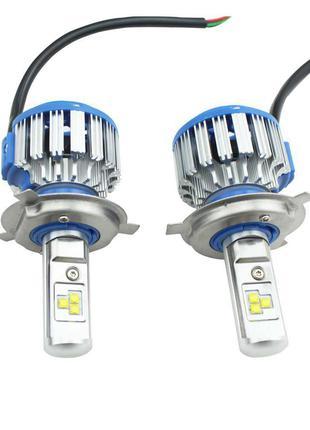 Лампа LED T1 H4 Turbo Hi/Lo LED 40W, 3600Lm