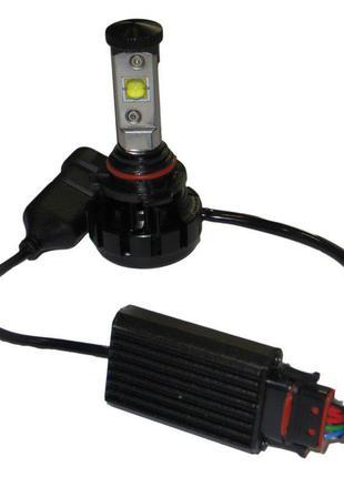 Лампа LED V18 9006 (HB4) Turbo LED 30W, 3600Lm
