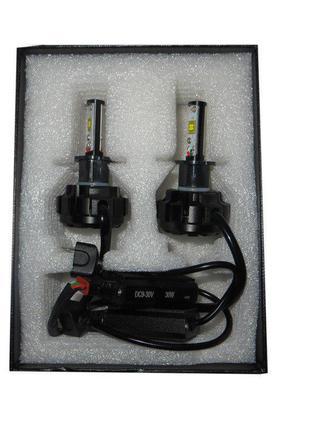 Лампа LED V18 H3 Turbo LED 30W, 3600Lm