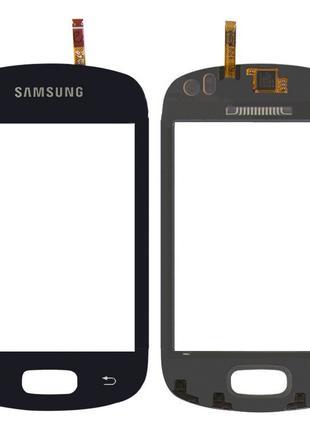 Тачскрин Samsung Galaxy Music S6010 / S6012 Black СКИДКА+ПОДАРОК!
