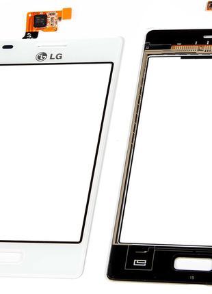 Тачскрин LG E610 Optimus L5 / E612 White СКИДКА+ПОДАРОК!