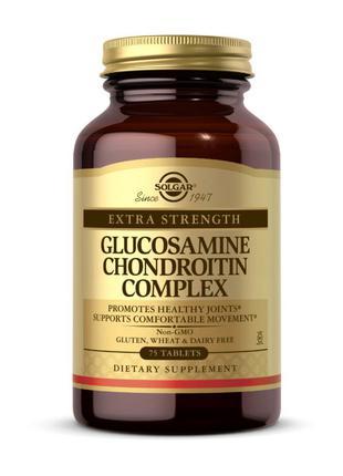 Глюкозамин с Хондроитином Solgar Glucosamine Chondroitin Compl...