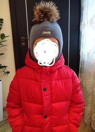 Шапочка-шлем, ідеально на зиму!)❤️