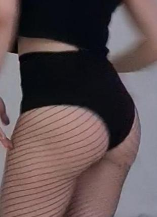 Трусы шорты завышеная талия для танцев или pool danse