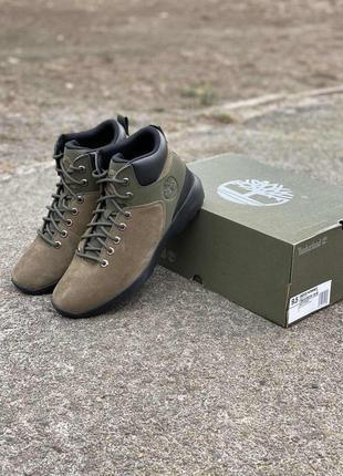 Кожаные ботинки timberland westford mid{оригінал