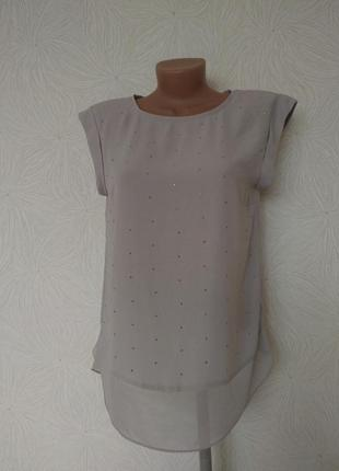 Блуза топ без рукавов с-м размер oasis