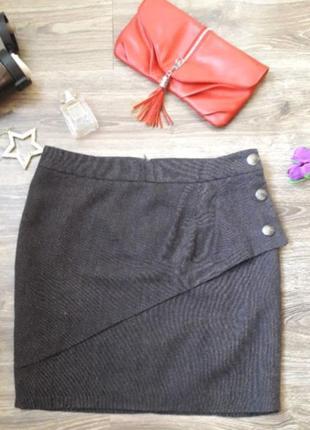 Мега стильная юбка с кокеткой ostin