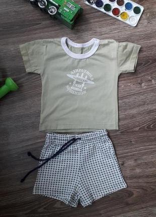 Футболка и шорты(комплект) мальчику 92см 2года