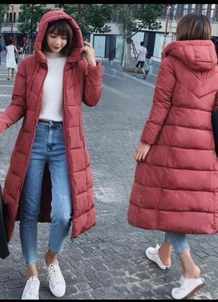 Новая длинная зимняя куртка