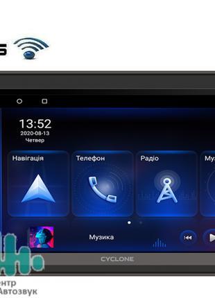 Автомагнитола 2 din android Cyclone MP-7088A bluetooth, GPS