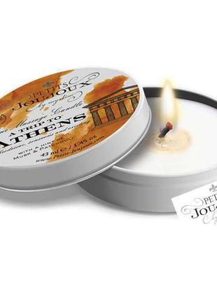 Массажная свеча с ароматом мускуса и пачули, 43 мл