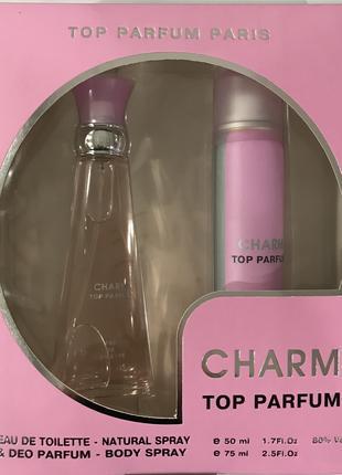 """Подарочный набор для женщин Top Parfum PARIS """"CHARM"""""""