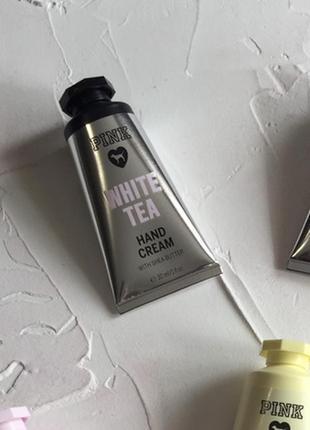 Крем для рук victoria's secret pink white tea оригинал крем ло...
