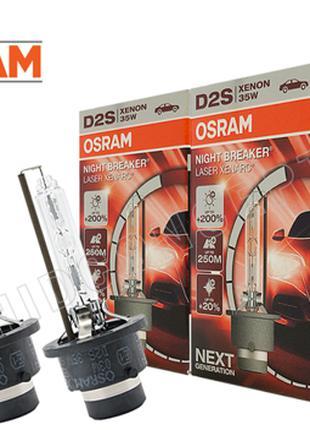 Штатная ксеноновая лампа D2S OSRAM 66240XNL Night Breaker Lase...