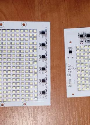 Светодиодная матрица 50W  тип  SMD  на 220 вольт