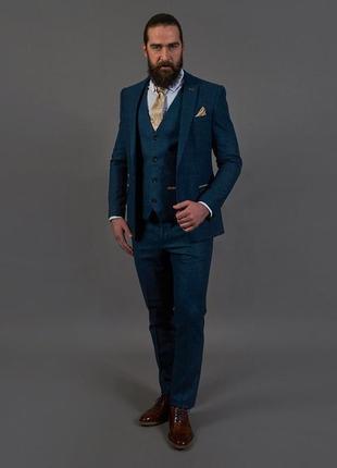 Дизайнерский💣 стильный пиджак+жилетка дорогой  бренда marc dar...
