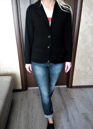 Kate hill👑100% шерсть мериноса шерстяной пиджак-кардиган-кофта...