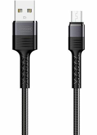Кабель Joyroom S-M363 King Kong MicroUSB Black