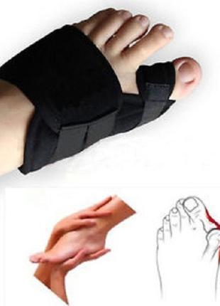 Бандаж-шина помогает избавится от косточки на ноге, вальгусная...