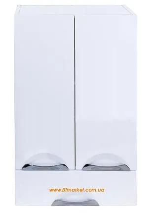 Пенал для ванной навесной Люкс 50 см