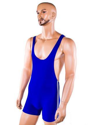 Трико борцовское World Sport синее, рост 140