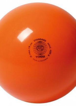 Мяч гимнастический Togu 400гр Оранжевый