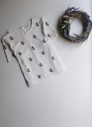 Фактурная блуза miss selfridge, украшена камнями