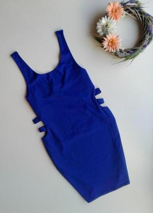 Платье с вырезами на талии new look