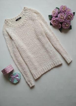 Молочный свитер george