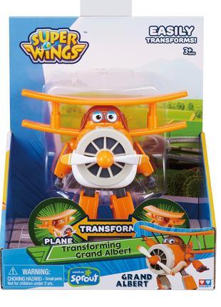 Мира Трансформер Super Wings Альберт Супер крылья Джетт и его дру