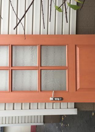 Двери, двери деревянные с МДФ покрытием